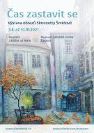 Vernisáž výstavy obrazů Simonetty Šmídové. 1